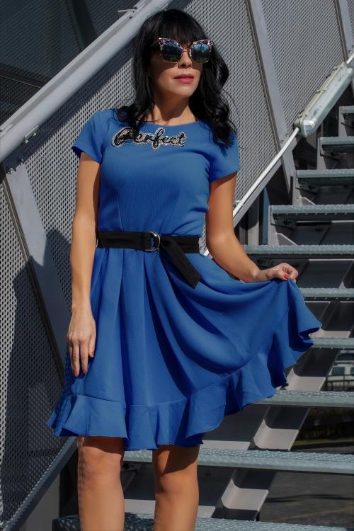 Рокля Twinity Perfect Blue