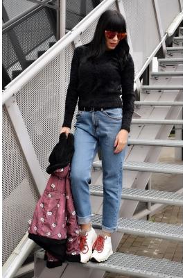 Twinity Пуловер Black