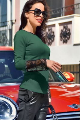 Twinity Блуза Green