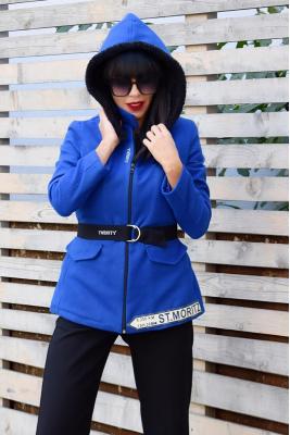 Топло Twinity Палто Blue